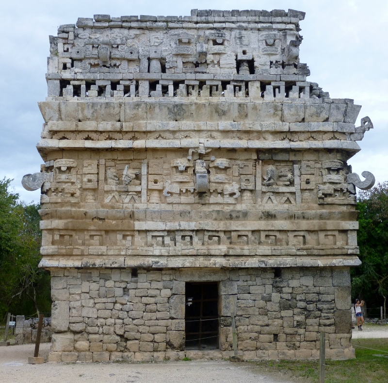 "The ""Nunnery"" at Chichen-itza"
