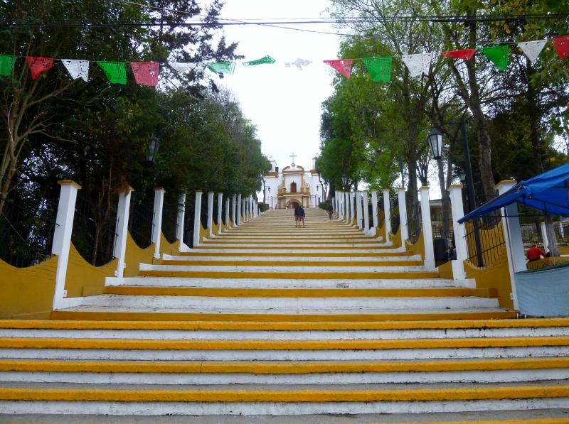 Stairway to Heaven-La Iglesia de Guadalupe