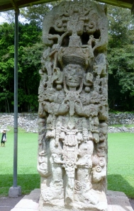 A Stelae in the Gran Plaza