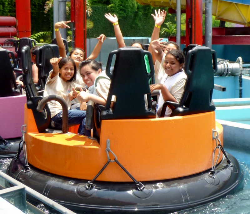 Amusement park at Guatemala City