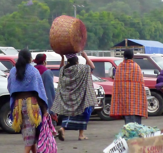 Woman going to the market