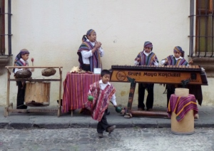 Marimbas - Guatemalan traditional music