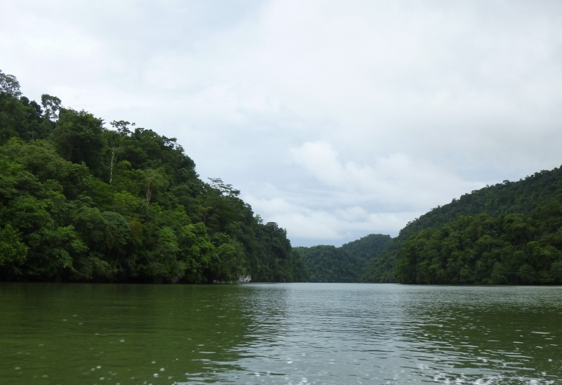 The Rio Dulce  (Sweet River)