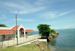 Entering and exiting Punta Gorda, Belize