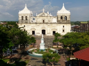 The largest Cathedral in Central America