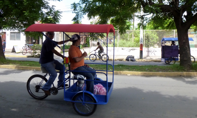 Pedicab - another form of transportation