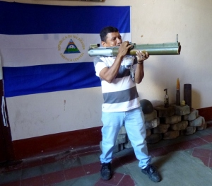 Our guide, Juan, joined at age 14 and fought in the revolution in 1979