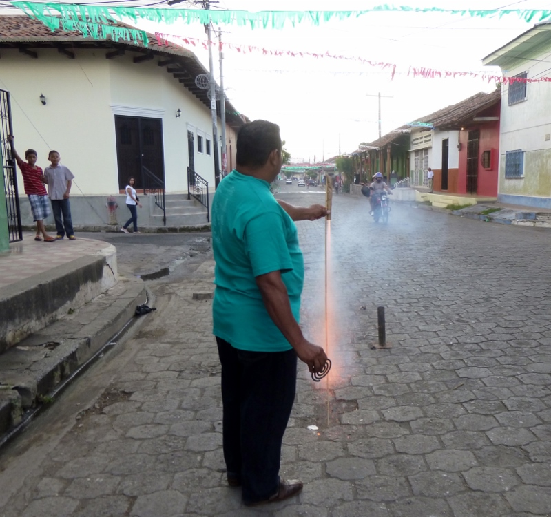 Fireworks-A rocket is launched