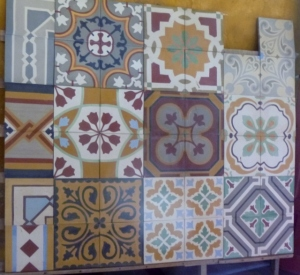 Tile selection