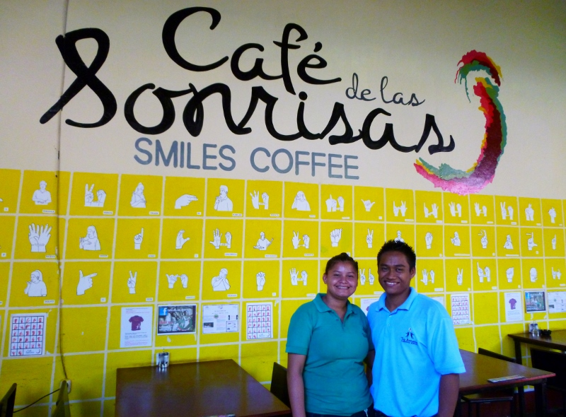 The cafe of smiles and Smiles Coffee