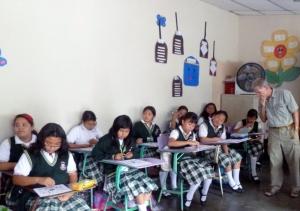 School girls in Antigua