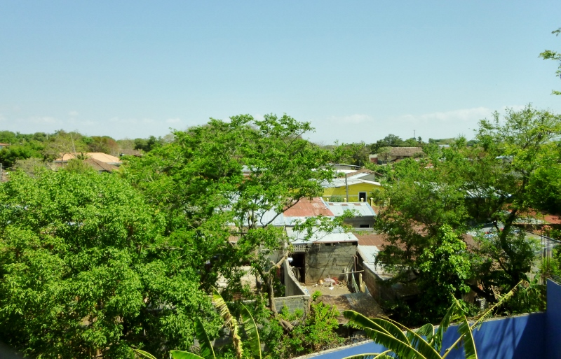 View from rooftop of Vista Mombacho