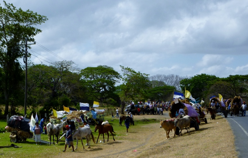 Pilgrims from Popyuapa