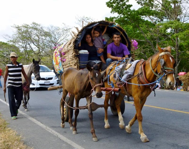 Pilgrims from Popoyuapa