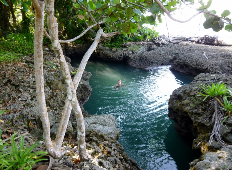 The coral pool
