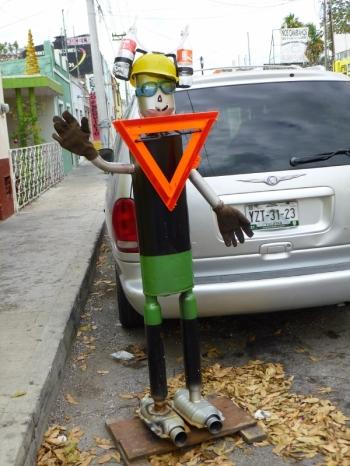 Street sign - Merida, Mexico