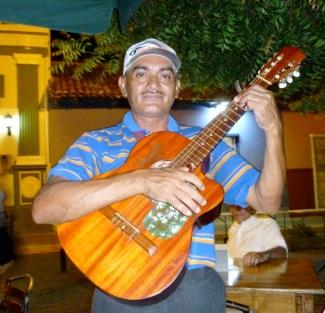 guitar player,Granada, Nicaragua