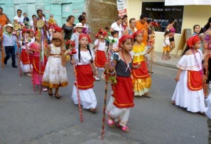 Epiphany parade - San Juan del Sur,Nicaragua