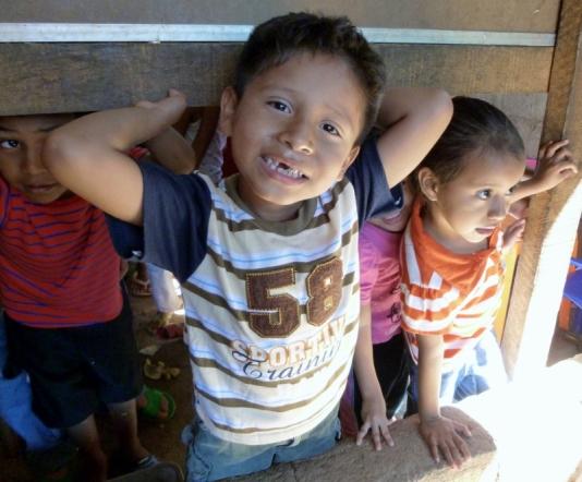 Angel waiting for lunch - Pantanal - Granada, Nicaragua