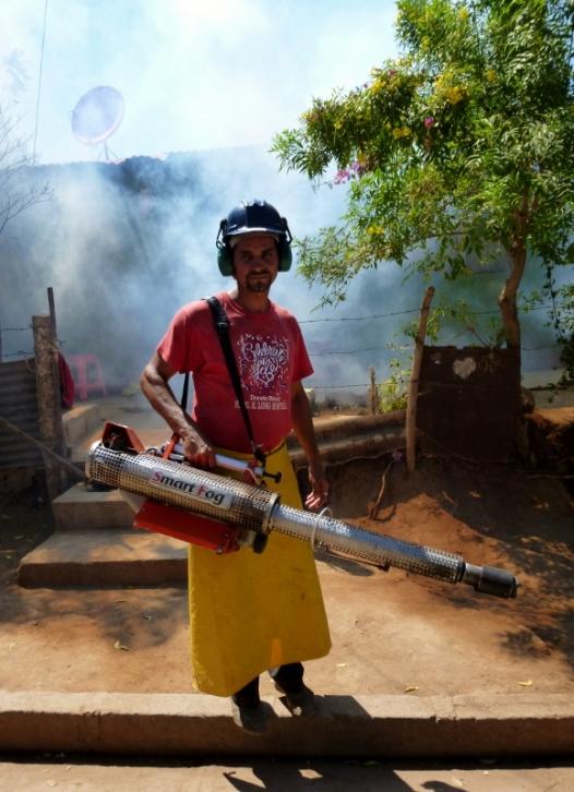 Fumigator - Smart fog indeed! Granada, Nicaragua