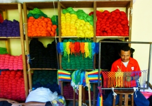 Weaving hammocks - Granada