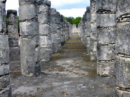 Plaza of a Thousand Columns - Chichen Itza