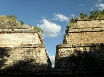 Ek Balam Mayan Ruins -the twins