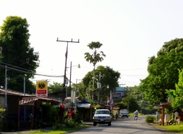 the town of Cahuita
