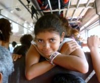 Ana and a beautiful smile - on the way to Playa Gigante ,Nicaragua