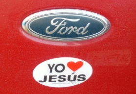 bumper sticker- Merida, Mexico