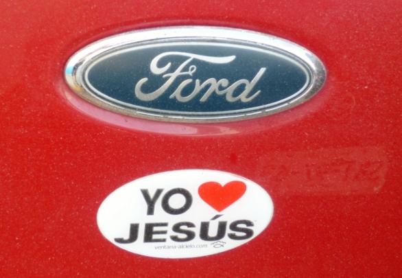 bumper sticker- Merida, Mexico