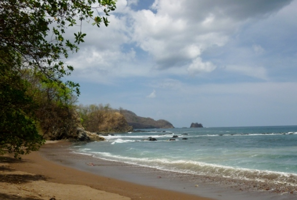 Coast north of Tamarindo