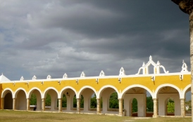 Arches at the Convent of St. Anthony of Pauda - Izamal