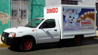 bread truck for bimbos -Merida, Mexico