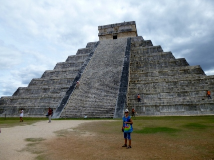 iconic symbol of Chichen Itza
