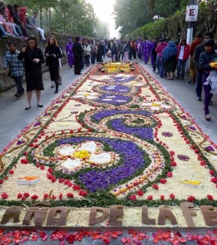 lent procession - Antigua