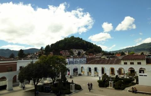 Red Tile Roofs-Palacio Municipal - San Cristobal de Las Casas