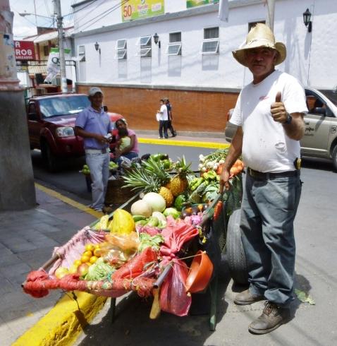 a big thumbs up! Matagalpa, Nicaragua