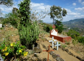 Cemetery north of Matagalpa