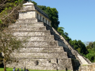 The Temple of Inscriptions - Palenque