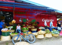 vegetables and fruits at Jinotega
