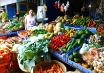 fresh fruits and vegetables at the market - Jinotega