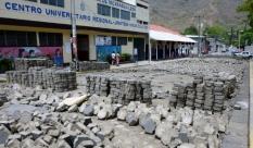 Street repair in Jinotega