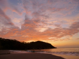 Playa Minos at sunset - Tamarindo