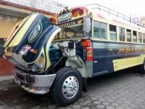 Pimp my chicken bus! Antigua