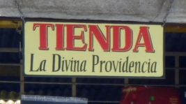 The store of Divine Providence-Antigua,Guatemala