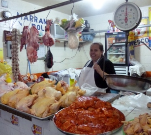 Meat and poultry -fresh daily- Antigua,Guatemala