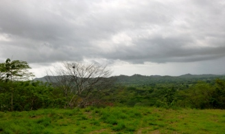 endless view from a mountain top - Tamarindo