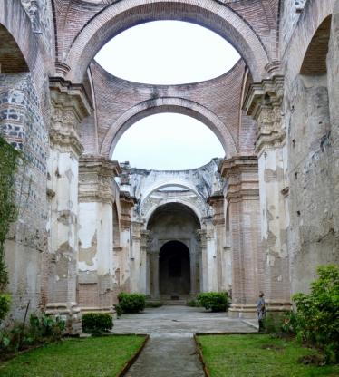 ruins of Santa Clara La Catedral - Antigua