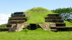 San Andre's Mayan Ruins - the Acropolis